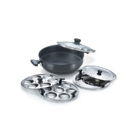 Prestige Multi kadai 220mm Induction Base
