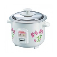 Prestige Delight Electric Rice Cooker PRWO 0.6 2 Open Type Double Pot
