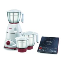 Mixer Grinder Tulip Classic and Induction Cook Top PIC 3.1 V3 With Automatic Whistle counter Combo