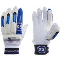 SS Youth RH Batting Gloves 1 Pair (-White / Blue