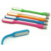 Portable Flexible USB LED Light Lamp -Colors may vary