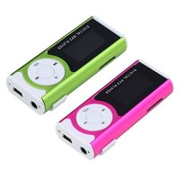 Portable Color Mini Digital MP3 Music Player LCD Display LED Torch TF/MicroSD Slot