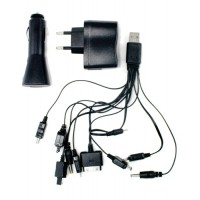 All-in-one Mobile Phone Usb Charger With Travel Adapter For Car - Home - Office