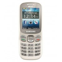 Samsung Metro B313E Feature Phone WHITE
