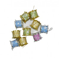 Hanging Decorative Drums for Christmas Trees  1 Pack