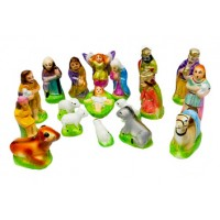 Christmas Holy Crib Set 5 Inch