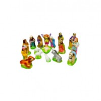 Christmas Holy crib Set 4 Inch