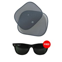 Buy Car Sunproof 2 Pair Get Sun Glass FREE