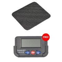 BUY Anti Slip Mat for Car Dashboard Get Nako NA 613D Quartz Clock FREE