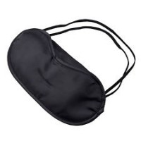 Sleeping Eye Mask Cover BLACK