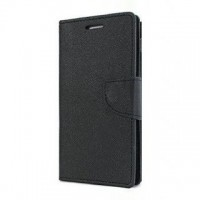 Lenovo A 6000 Flip Cover Case Mercury Goospery Fancy Diary Wallet Black