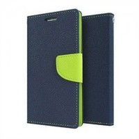 Lenovo A 6000 Flip Cover Case Mercury Goospery Fancy Diary Wallet  Blue-Green