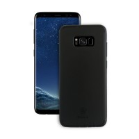 Samsung Galaxy S8 Plus Back Cover Slim Matte Finish Rubberized Black Hard Back Case Cover Dust Proof