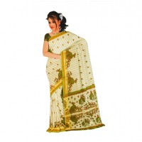 Designer Printed Cotton Saree FS263