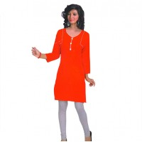 Womens Semistiched Cotton Kurti 3181