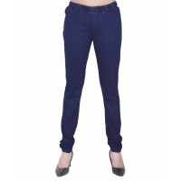 Lady Blue Denim Lycra Jeggings FS255