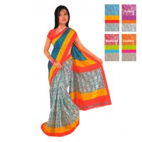 Designer Cotton Saree FS264