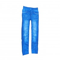 Womens Sexy Denim Jeans Look Leggings Jeggings Skinny Pants 0358