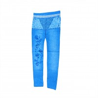 Womens Sexy Denim Jeans Look Leggings Jeggings Skinny Pants 0359