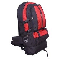Golf Club Bag Red Black Traveling Bagpack