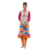 Designer Women Cotton Kurtis FS137