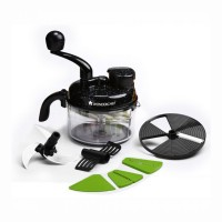 Wonderchef Turbo Dual Speed 6 in 1 Food Processor