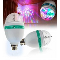 Disco Light Bulb DJ Laser Light Disco Party Bulb 360 Degree