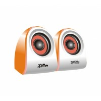 Zebronics IGLOO	2.0  Multimedia Speaker Orange