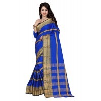 Aura Silk Saree Blue