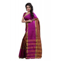 Bhagalpuri Beauty Pink Saree