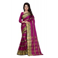 Aura Beauty Pink Saree P1