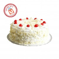 Fresh and Delicious White Forest Cake1kg