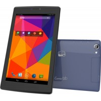 Micromax Canvas tab P480 Tablet -7 inch, 8GB, Wi-Fi+3G+Voice Calling- Blue
