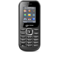 Micromax X072 Mobile Phone Black