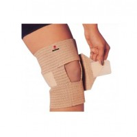 Knee Support (Adjustable Velcro) Skin Color-Omtex