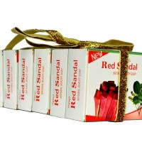 Red Sandal Soap Buy 5 Get 1 Free (Pack of 6)