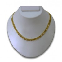 Pearl & gold plated necklace P2
