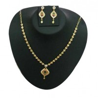 Gold plated necklace G2