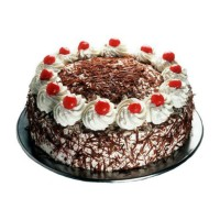 2 Kg Eggless Black Forest