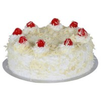 2 Kg Eggless White Forest