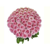 150 Pink Roses Bouquet