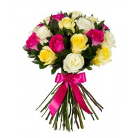 25 Mixed Roses Bouquet