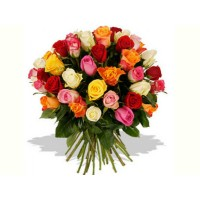 60 Mixed rose bouquet