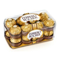 16 pieces Ferrero Rocher