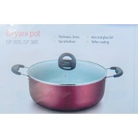 Impex Non-stick Biriyani Pot 17 Ltr ISP 3815