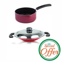 Impex Milk Pan 18cm with Nonstick Appachatty Special Combo Offer