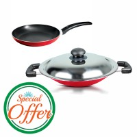 Impex Fry Pan 12 cm with Nonstick Appachatty Special Combo Offer