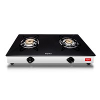 Impex Glass Top Gas Stove SPARKLE 2