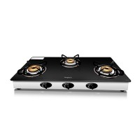 Impex Glass Top Gas Stove SPARKLE 3