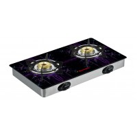 Butterfly Glass Top LPG Stove Reflection 2 Burner- Special Edition- Auto Ignition